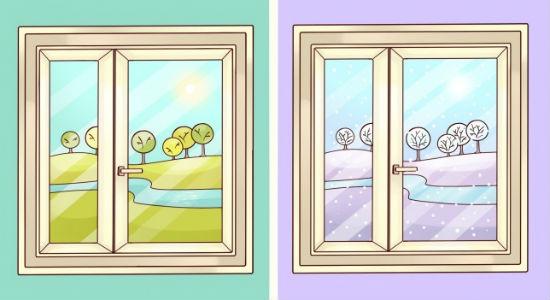 Pencere yaz, kış ayarı nasıl yapılır